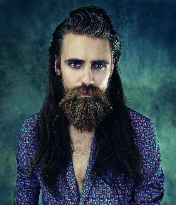 10 Long Hair and Beard Styles to Look Handsome – Cool Men's Hair