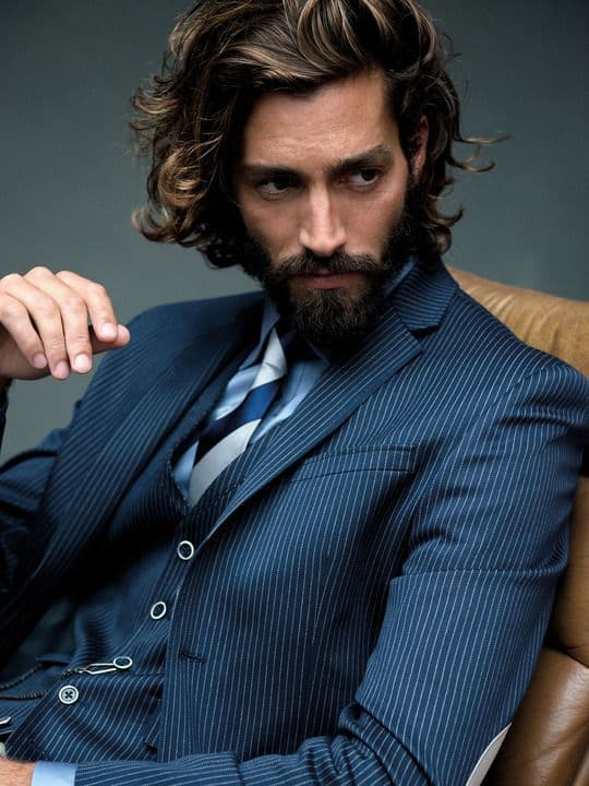 10 Long Hair And Beard Styles To Look Handsome Cool Men S Hair