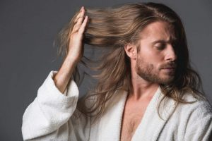long hair care tips for men