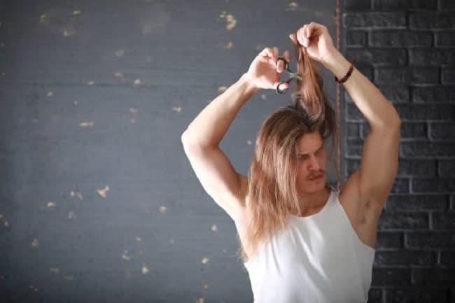 regular trimming for long hair