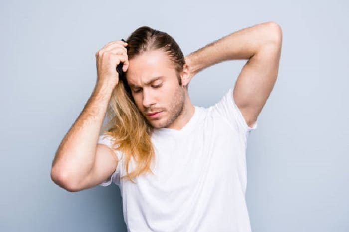 hair care tips for men with long hair