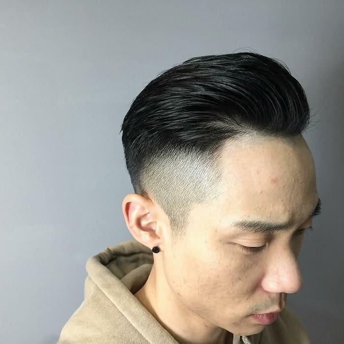 long hair undercut for men