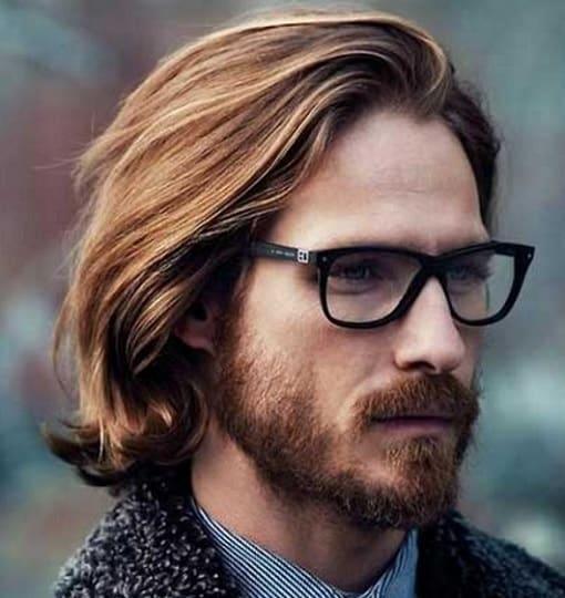gentleman haircut for long hair