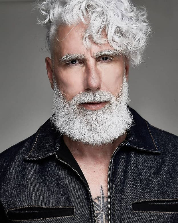 7 unique ways to sport long hair for older men 2021 guide