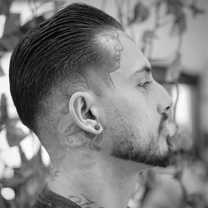 blowout fade with taper ends