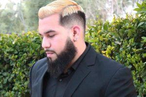 low drop fade haircut