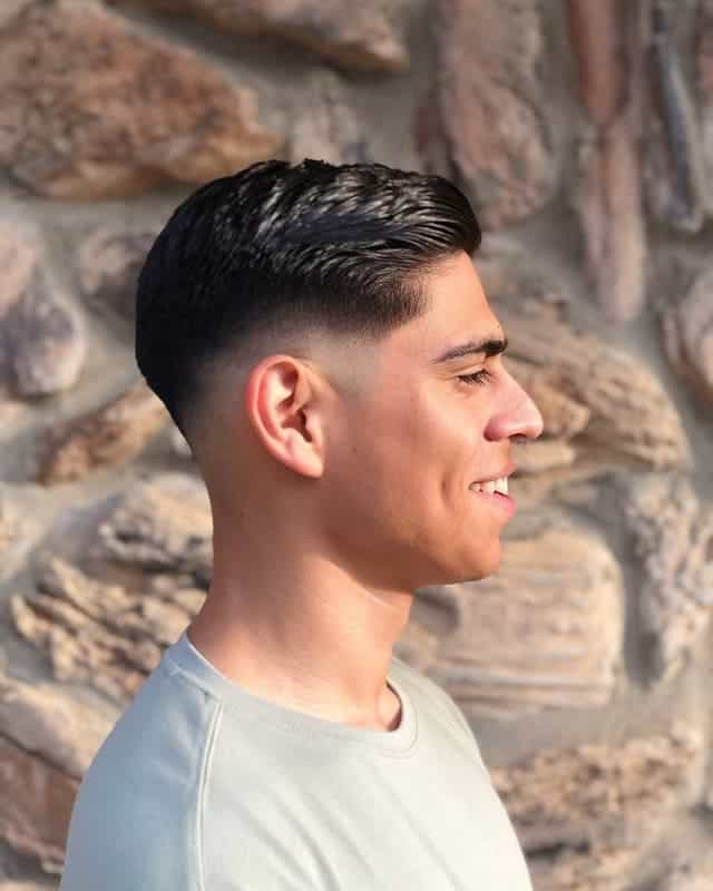 low drop fade hairstyles