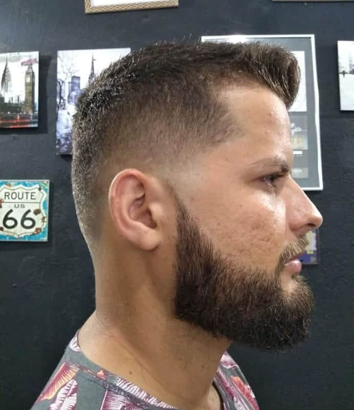 low fade hairstyles for short hair