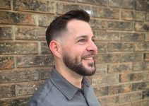low taper fade for men