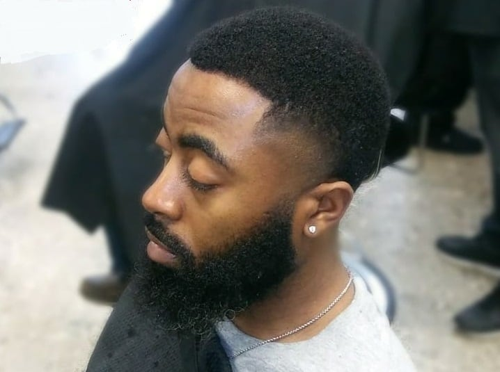 How to Style Low Tapered Afro