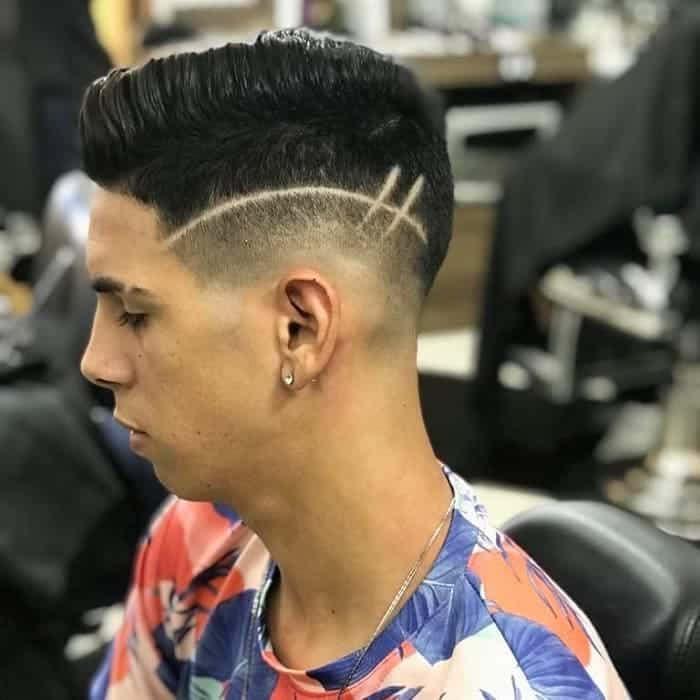 low temp fade with design