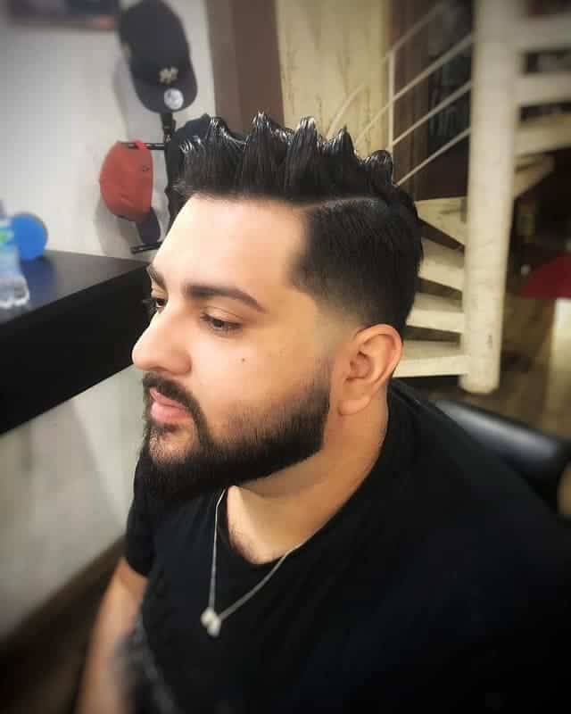 low taper fade haircuts for men