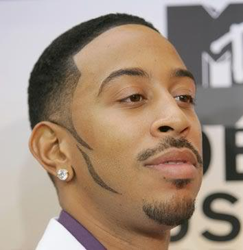 short hairstyle from Ludacris.