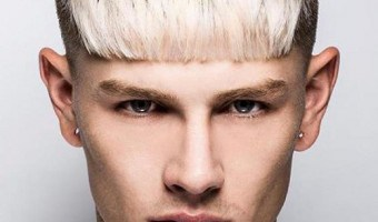 How to Get the Luke Worrall Blunt Bangs Hairstyle
