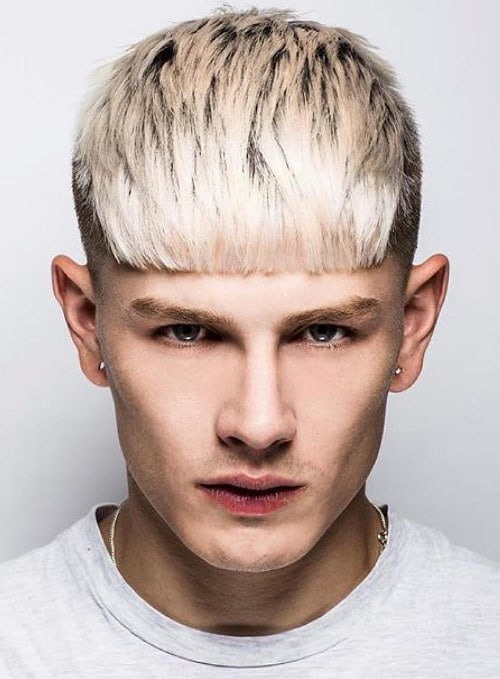 Marvelous How To Get The Luke Worrall Blunt Bangs Hairstyle Cool Men39S Hair Short Hairstyles For Black Women Fulllsitofus