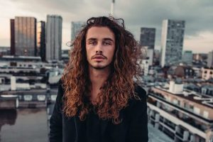 male models with long hair