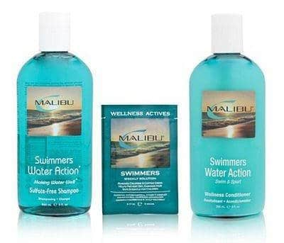 Image of Malibu Wellness Swimmers Wellness Kit Hair Care.