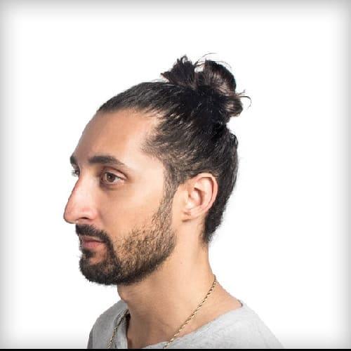 7 Spectacular Man Bun Hairstyles for Curly Hair 2020 - Cool Men's Hair
