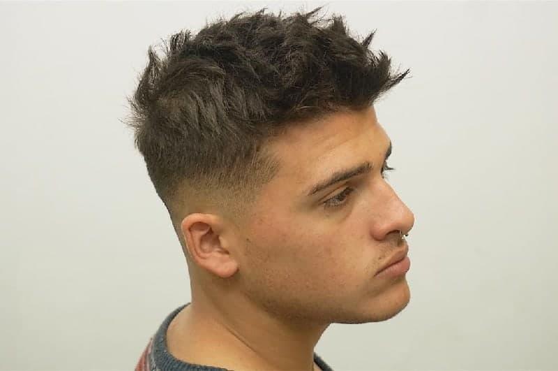 man bun for curly hair