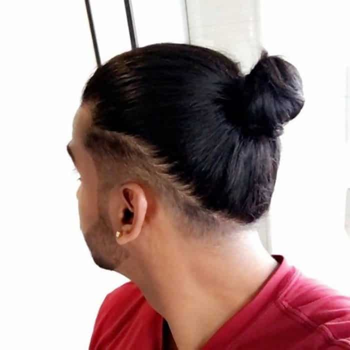 Basic Undercut Man Bun