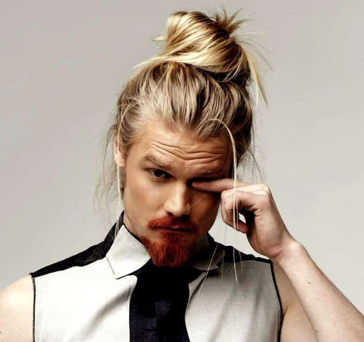 Celebrity guys with blonde hair
