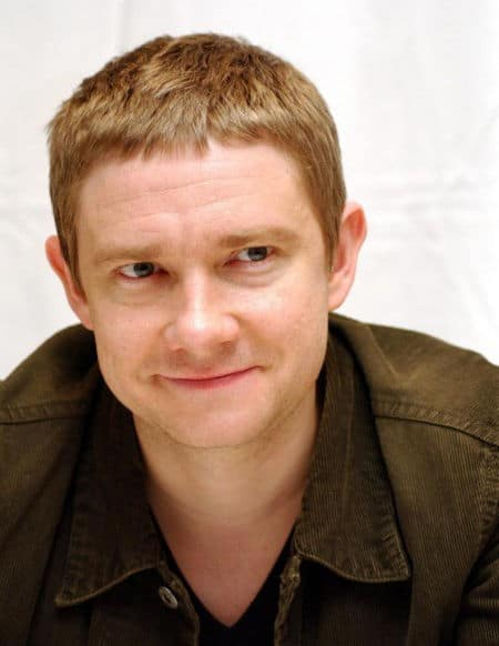 Picture of Martin Freeman caesar bangs.