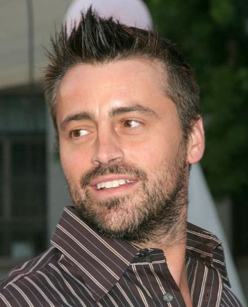 Photo of Matt Leblanc hairstyle.