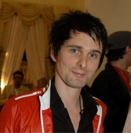 Men's hairstyle from Matthew James Bellamy.