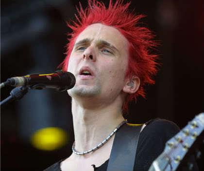 Matthew James Bellamy red hair