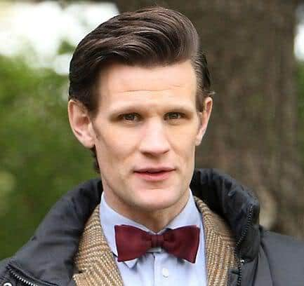 Image of Matt Smith hairstyle.