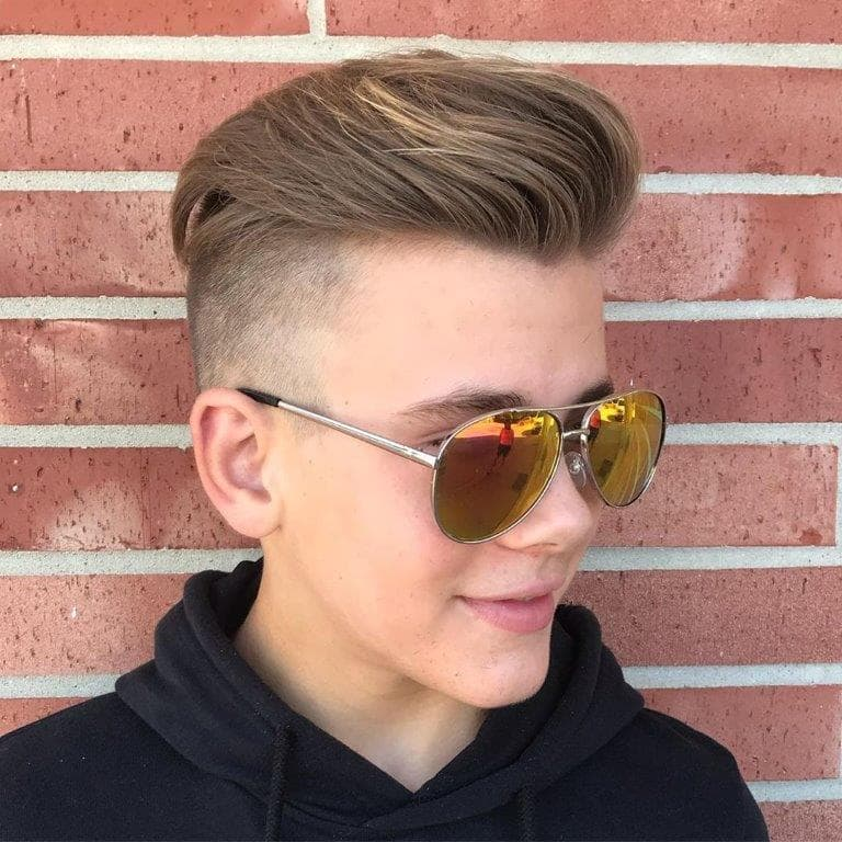 medium comb over hairstyles for boys