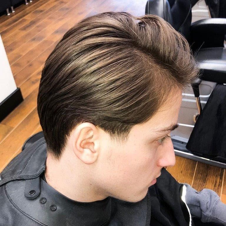 medium hairstyles for boys