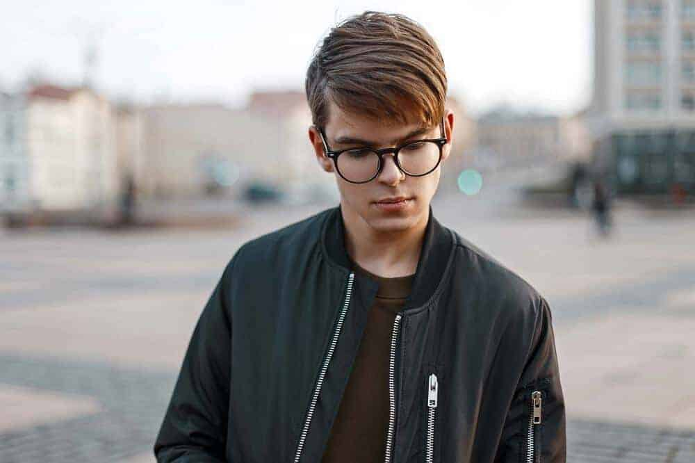 medium hairstyles for boys