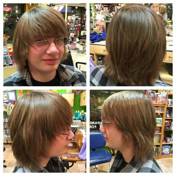 30 Sophisticated Medium Hairstyles for Teenage Guys [2020]