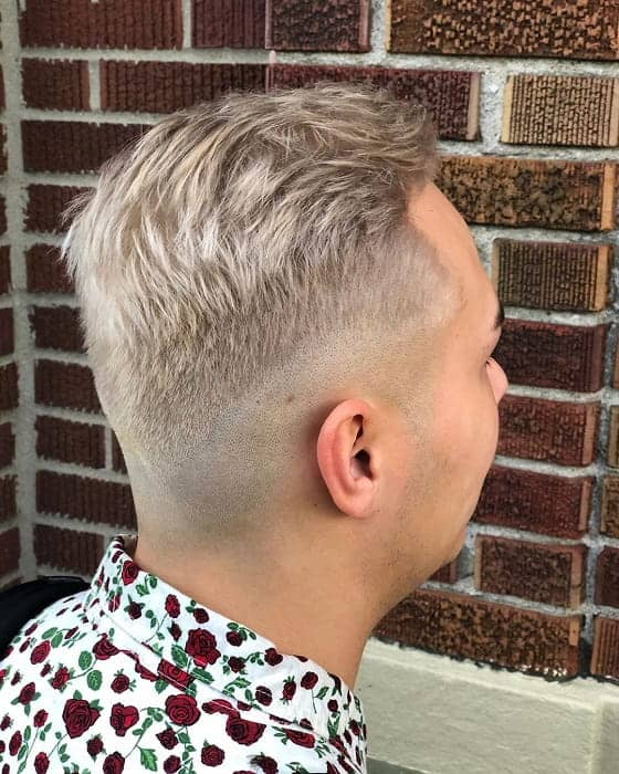 men with fine hair texture