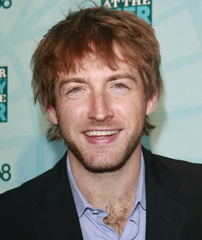 messy red haired actor - Fran Kranz