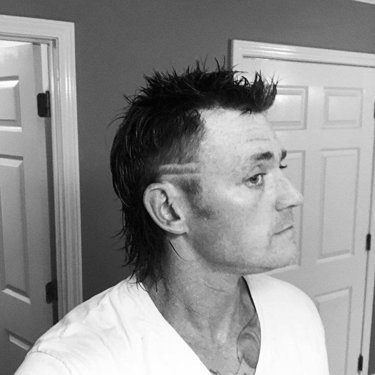 spiky mexican mullet hairstyle