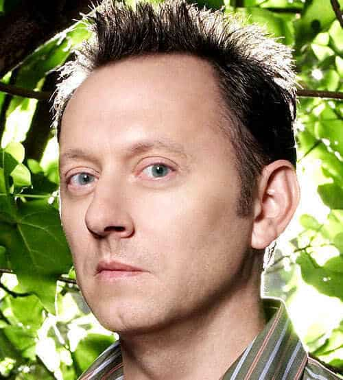 Photo of Michael Emerson as Benjamin Linus with spiky hairstyle in the tv series Lost.