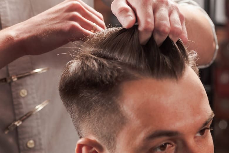 How to Get Mid Fade Comb Over