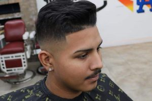 mid skin fade for men
