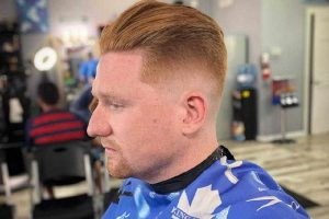 mid taper fade for men
