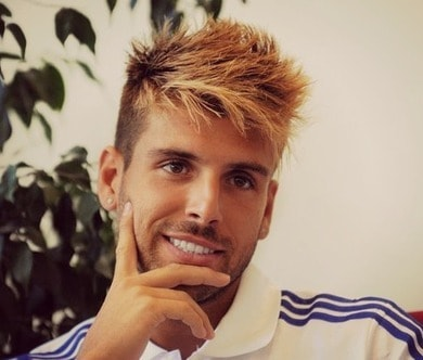 Photo of Miguel Veloso hair.