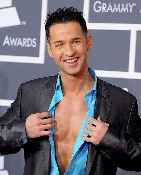 Image of Mike Sorrentino hair for young men.
