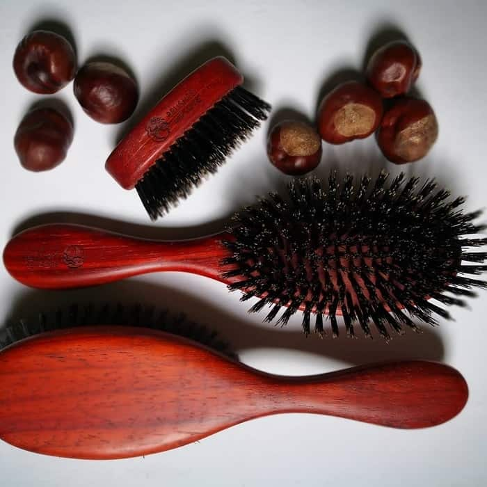 Types of Bristles on the Military Brushes