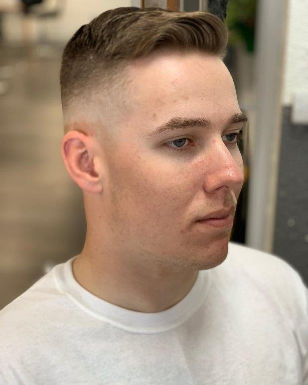 best military buzz cuts for men