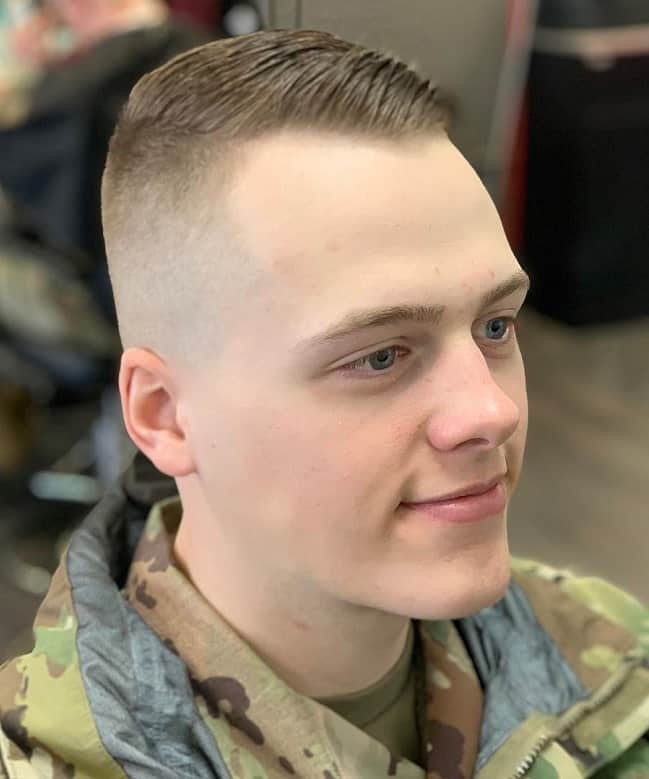 Short Army Haircuts For Men 65