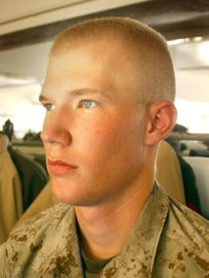 Military burr haircut