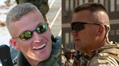 High & tight military haircuts