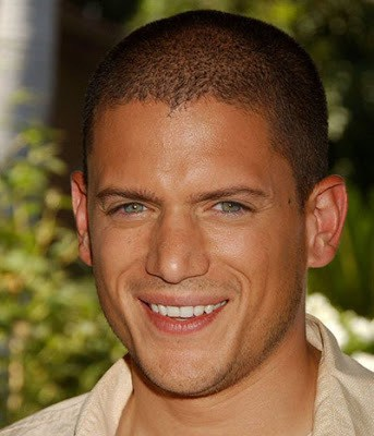 Buzz cut style from Wentworth Miller