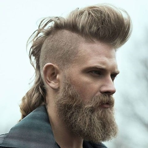mohawk hairstyle for long hair